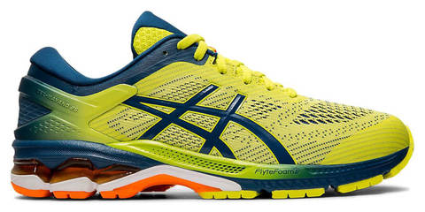 Asics Gel Kayano 26 Kai кроссовки для бега мужские желтые