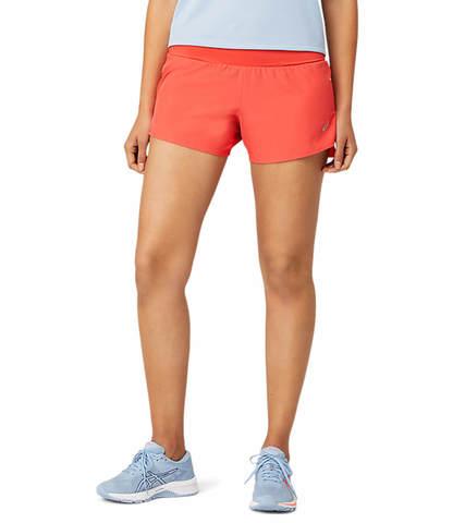 """Asics Road 3.5"""" Short шорты для бега женские розовые"""