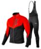 Victory Code Go Fast Warm разминочный лыжный костюм со спинкой red - 1