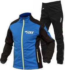 RAY Race WS 2018 лыжный костюм унисекс blue-lime