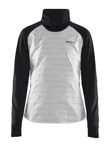 Craft SubZ Sweater кофта женская черная-белая
