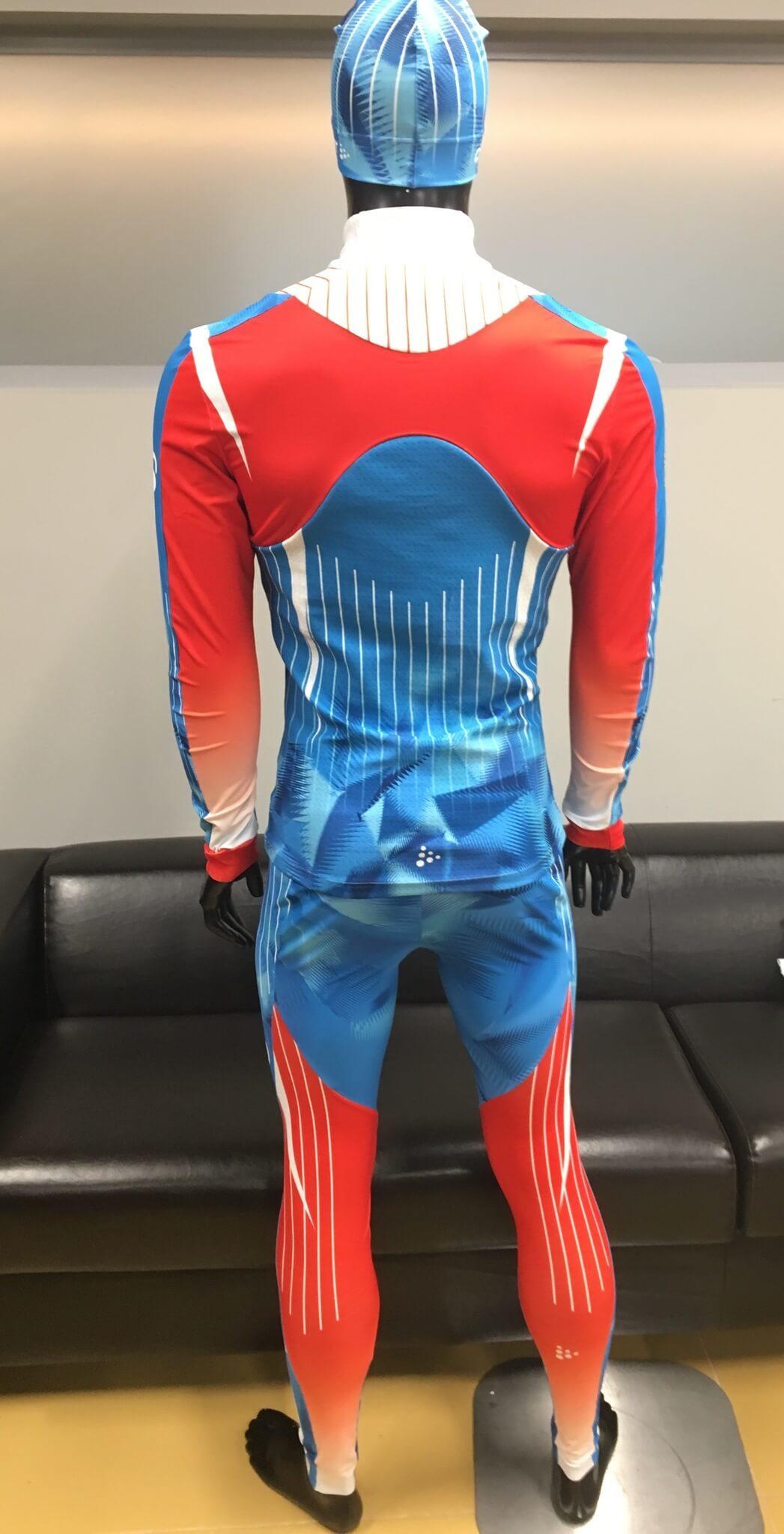 Элитный гоночный комбинезон Craft Ski Team Russia - 3