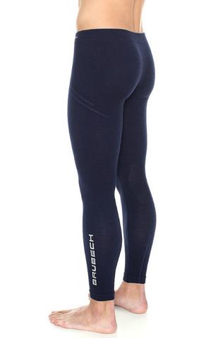 Термобелье Brubeck Wool Merino термокальсоны мужские синие