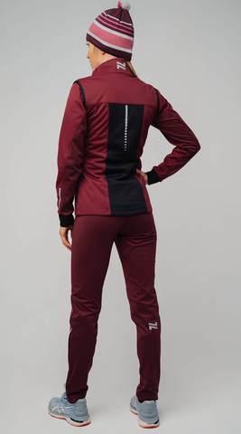Nordski Pro лыжный костюм женский бордо