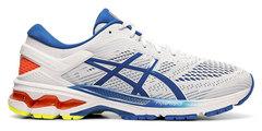 Asics Gel Kayano 26 кроссовки для бега мужские белые-синие