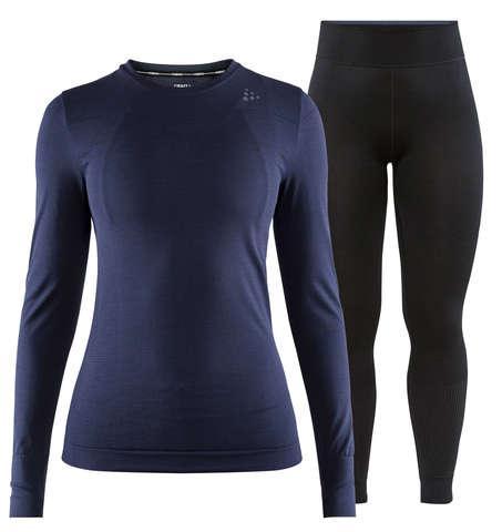 Craft Fuseknit Comfort комплект термобелья женский navy-black