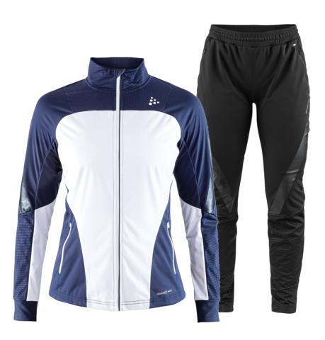Craft Sharp XC лыжный костюм женский темно-синий