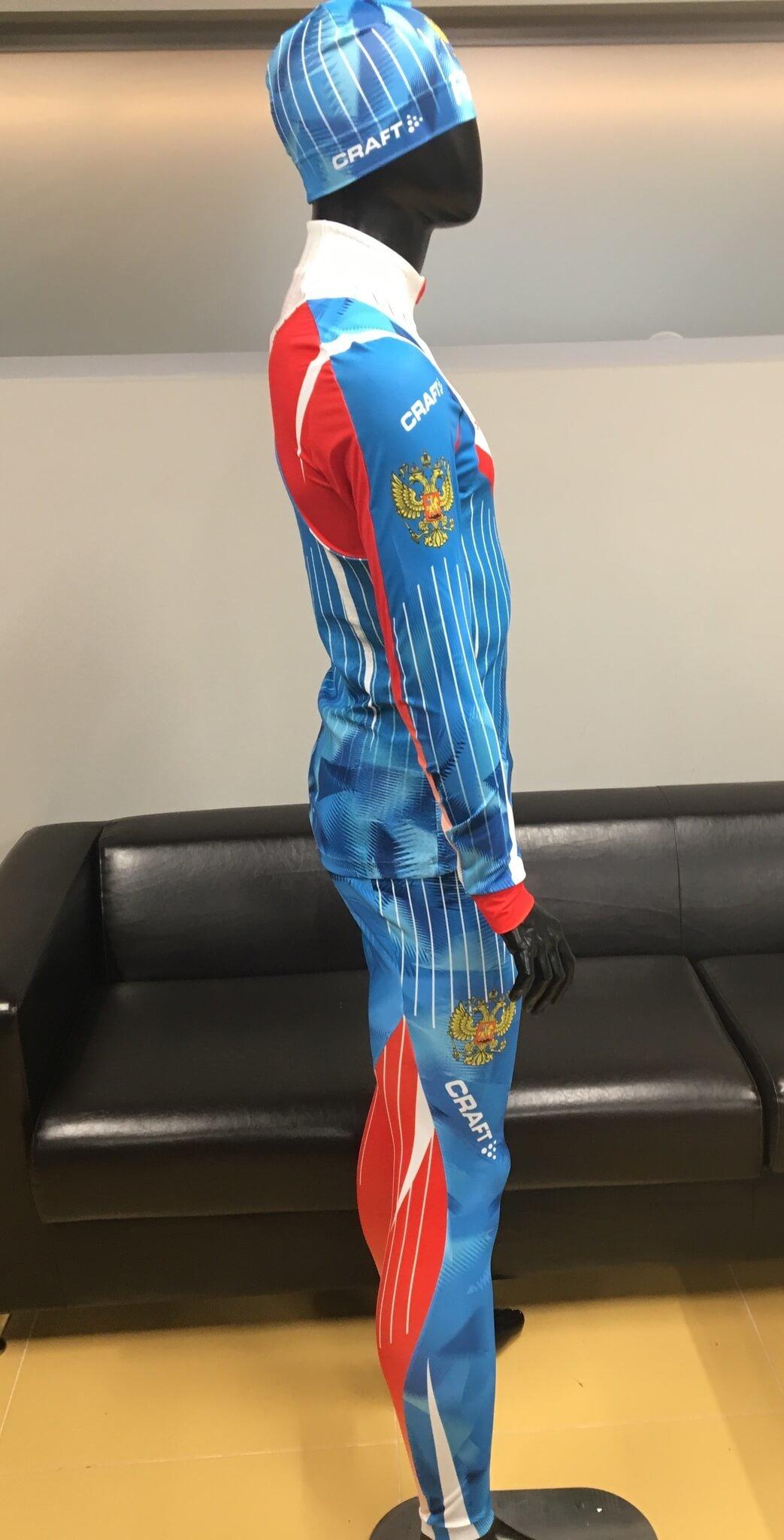 Элитный гоночный комбинезон Craft Ski Team Russia - 4