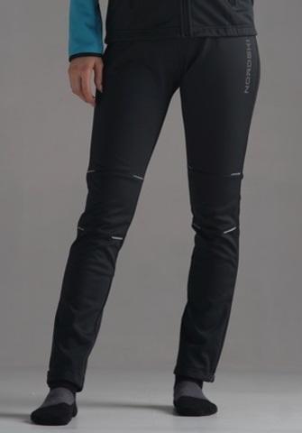 Nordski Premium разминочные лыжные брюки женские черные