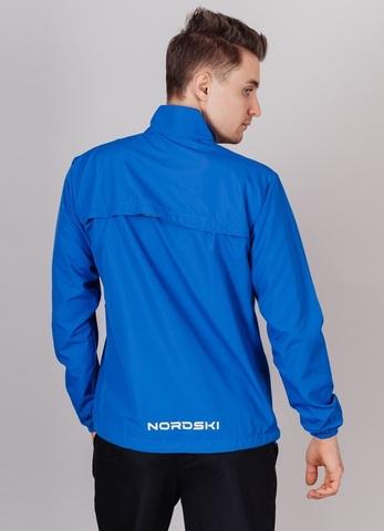 Nordski Motion Premium костюм для бега мужской black-vasilek