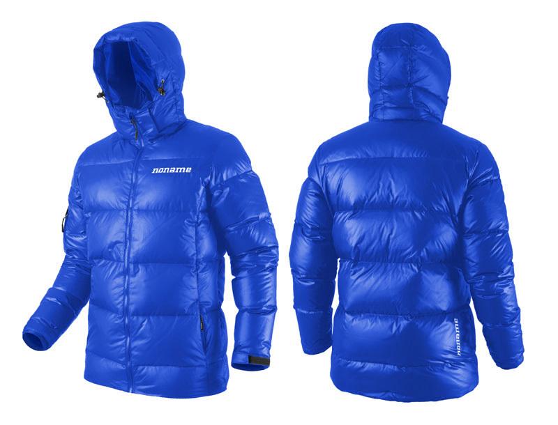 Куртка пуховая Noname Heavy down унисекс (blue) - 2