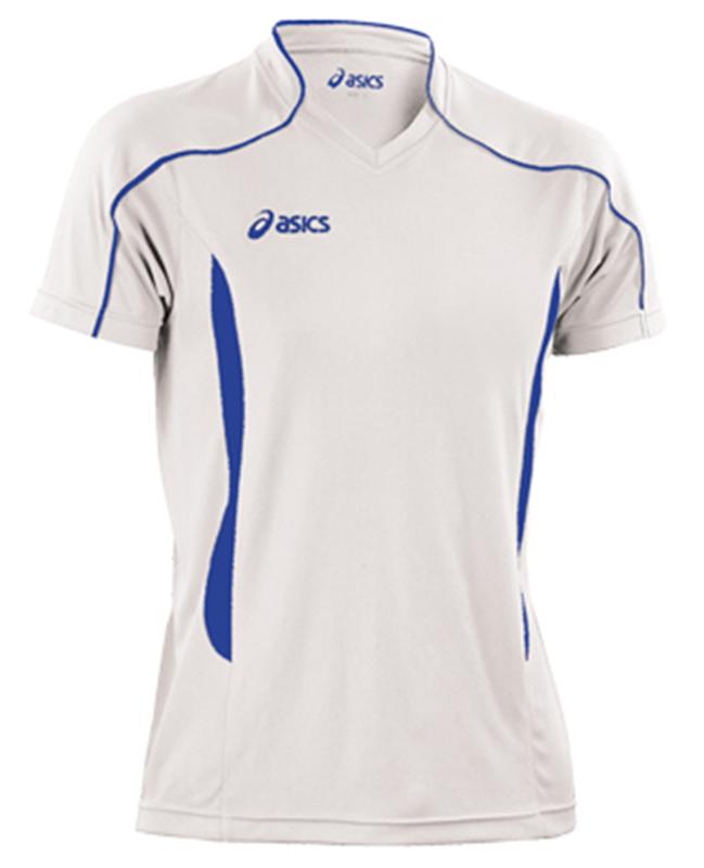 Волейбольная футболка Asics T-shirt Volo мужская white - 3