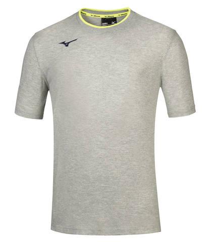 Mizuno Tee беговая футболка мужская серая