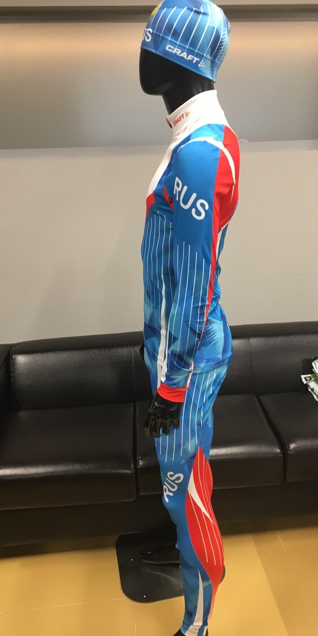 Элитный гоночный комбинезон Craft Ski Team Russia - 5