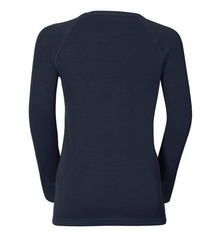 Odlo Warm детское термобелье рубашка navy