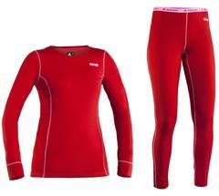 Комплект термобелья 8848 Altitude Sahanna/Sol женский Red