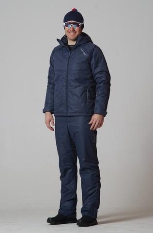 Nordski Motion мужской утепленный лыжный костюм dark navy