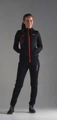 Nordski Hood Cuff костюм женский black-orange