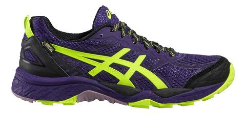 Asics Gel Fuji Trabuco 5 G-tx кроссовки внедорожники женские фиолетовые