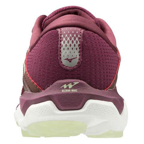 Mizuno Wave Horizon 4 кроссовки для бега женские бордовые