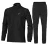ASICS RUNNING WOVEN 2 мужской костюм для бега черный - 1