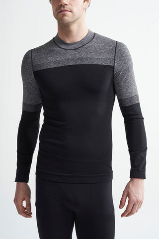 Craft Warm Intensity термобелье мужское рубашка black