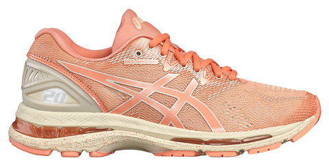 Кроссовки для бега женские Asics Gel Nimbus 20 Sp коралловые (Распродажа)