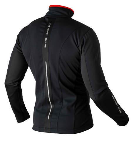Victory Code Speed Up разминочный лыжный костюм с лямками black
