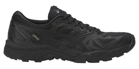 Кроссовки-внедорожники для бега женские Asics GEL-Fujitrabuco 6 G-TX черные (РАСПРОДАЖА)