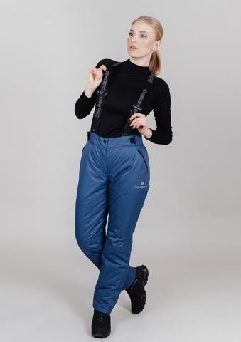 Nordski Premium утепленные лыжные брюки женские denim