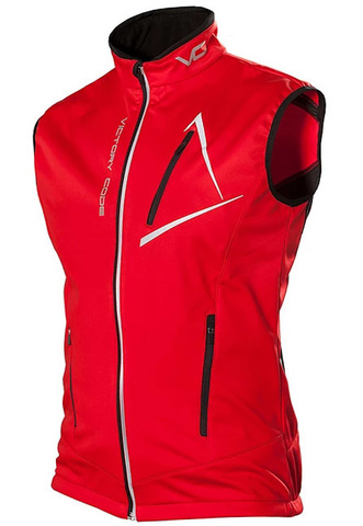 Victory Code Dynamic лыжный жилет red