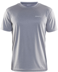 Craft Prime Run мужская спортивная футболка светло-серая