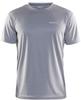 Craft Prime Run мужская спортивная футболка светло-серая - 1