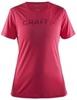 CRAFT PRIME RUN LOGO женская беговая футболка - 1