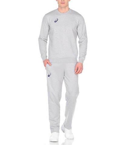 Спортивный костюм мужской Asics Knit Suit серый
