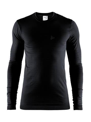 Craft Warm Comfort термобелье мужское терморубашка черная
