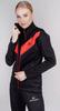 Утепленный беговой костюм женский Nordski Base black-red - 2