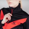 Утепленный беговой костюм женский Nordski Base black-red - 4
