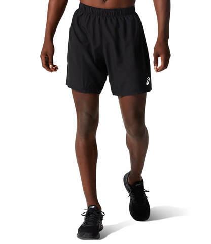 """Asics Core 7"""" Short шорты для бега мужские черные"""