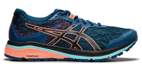Asics Gt 1000 8 GoreTex  женские кроссовки для бега синие
