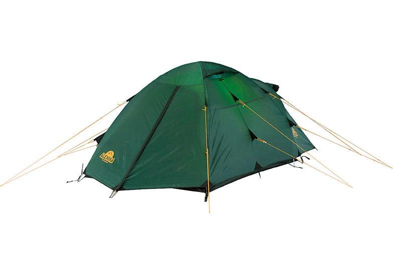 Alexika Nakra 3 туристическая палатка трехместная - 3