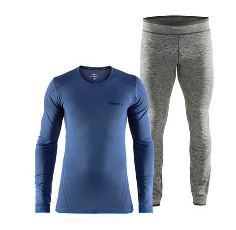 Craft Active Comfort комплект термобелья мужской blue-black
