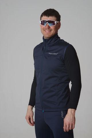 Nordski Jr Motion детский лыжный жилет blueberry
