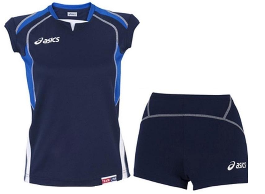 Asics Set Olympic Lady форма волейбольная женская dark blue - 4