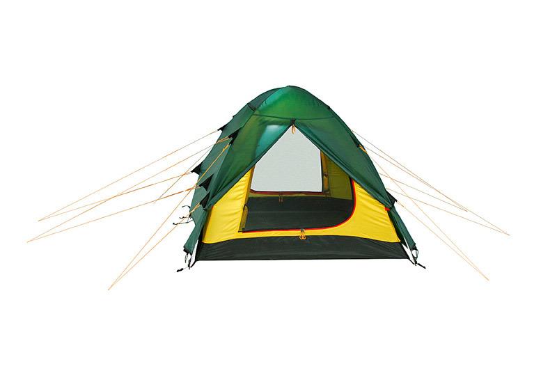 Alexika Nakra 3 туристическая палатка трехместная - 4