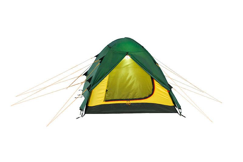 Alexika Nakra 3 туристическая палатка трехместная - 5