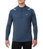 Asics Icon 1/2 Zip LS мужская рубашка для бега синяя - 1