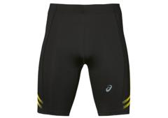 Asics Icon Sprinter беговые тайтсы мужские черные-желтые