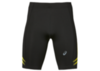 Asics Icon Sprinter беговые тайтсы мужские черные-желтые - 1