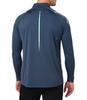 Asics Icon 1/2 Zip LS мужская рубашка для бега синяя - 2